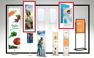 Banner and Poster Displays