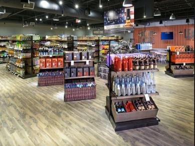 Liquor Store Displays
