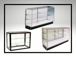 Metal Frame Display Cases