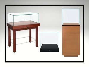 Display Cases with Lift Off